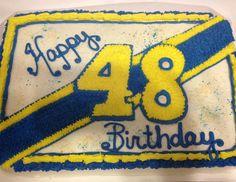 Jimmy Johnson birthday cakes Lowes NASCAR racing #48