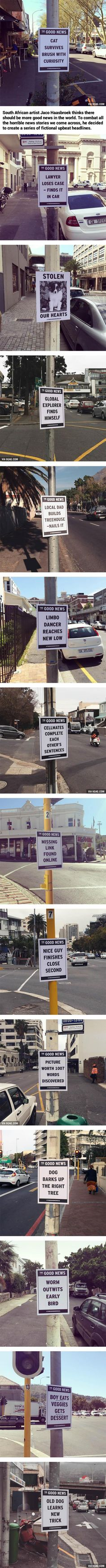 """Artist Delivers """"The Good News"""" With Upbeat Street Flyers - www.viralpx.com"""