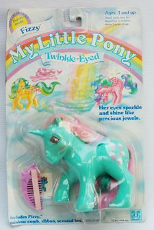 View Item: MLP MY LITTLE PONY TWINKLE EYED FIZZY 1986 MOC