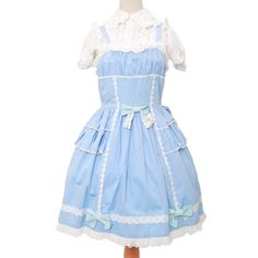 http://www.wunderwelt.jp/products/detail3337.html ☆ ·.. · ° ☆ ·.. · ° ☆ ·.. · ° ☆ ·.. · ° ☆ ·.. · ° ☆ Light blue dress BABY THE STARS SHINE BRIGHT ☆ ·.. · ° ☆ How to order ☆ ·.. · ° ☆   http://www.wunderwelt.jp/blog/5022 ☆ ·.. · ☆ Japanese Vintage Lolita clothing shop Wunderwelt ☆ ·.. · ☆ #egl
