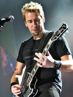 Chad Kroeger (Chad Hurton)  (November 15, 1974) Canadian singer and guitarist of the band Nickelback.