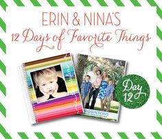 Day 12 of Erin and Nina's 12 Days of Favorite Things Giveaway
