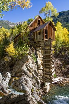 ~~Crystal Mill ~ autumn at an old mill in Crystal, Colorado by Jim Boud~~