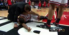 Ain't that some Bull? Chicago Bulls Star Derrick Rose Torn ACL Injury. Will miss Remainder of Post Season