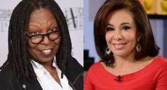 Whoopi Goldberg abruptly ends fiery debate with Fox News judge Jeanine Pirro: 'Say goodbye! Jeanine Pirro, Whoopi Goldberg, People News, Fox News Channel, Nbc News, View Video, Eye, Fans, Entertainment