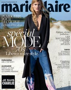 ☆ Constance Jablonski | Photography by Tim Barber | For Marie Claire Magazine France | March 2015 ☆ #Constance_Jablonski #Tim_Barber #Marie_Claire #2015