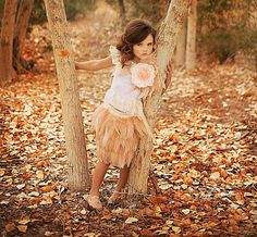 I can't wait for my baby girl to get here :) Magical Forest Blush Girls Rooster Feather Skirt by sharpsissors, $148.00