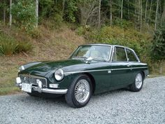 1967 MG MGB GT...I heard there is an unwritten rule that MG's should only be Red or British Racing Green!