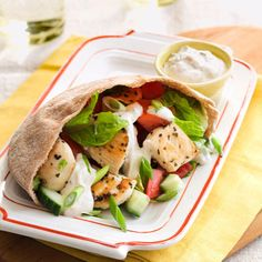 Chicken Gyros #chickenrecipes