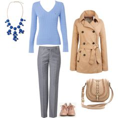 """Light Summer - blue"" by adriana-cizikova on Polyvore"