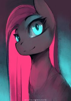 Blue And Pink (57/366) by FoxInShadow on DeviantArt