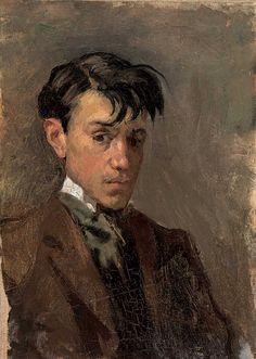 Pablo Picasso,Self-Portrait, 1896