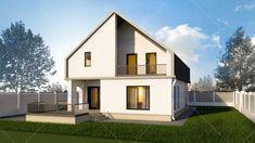 Proiecte de case din lemn cu 2 dormitoare - Case practice