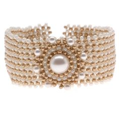 Tutorial - How to: Grace Kelly Woven Bracelet | Beadaholique
