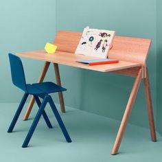 A COPENHAGUE moldado mesa de madeira compensada CPH190, feito em madeira maciça e compensado, por Ronan e Erwan Bouroullec - deco e design