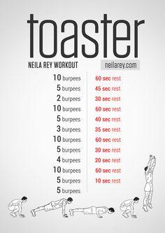 Workout Tostadora