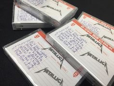 """Metallica's demo tape, """"No Life Till Leather,"""" available at Zia Records on Record Store Day, April 18th."""