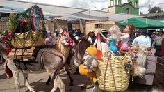La entrada de Navidad en Acobamba, Huancavelica, Peru.