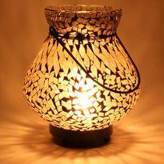 Mosaic Lota Lamp in Amber Rs 899/- http://www.tajonline.com/diwali-gifts/product/hvi17/mosaic-lota-lamp-in-amber/?aff=pint2014/