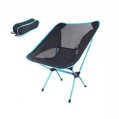Yello Camping Chair Stripes Portable Fishing Festival Beach Garden Outdoor Camp