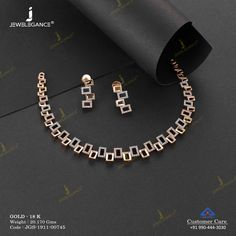Gemstone Necklace Set jewellery for Women by jewelegance. ✔ Certified Hallmark Premium Gold Jewellery At Best Price Fancy Jewellery, Gold Jewellery Design, Gold Bangles Design, Jewellery Earrings, Handmade Jewellery, Gold Jewelry Simple, Stylish Jewelry, Modern Jewelry, Jewelry Accessories
