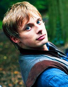 Arthur Pendragon played by Bradley James. Here's a version of this picture without the words in front of it. There's my justification for pinning yet another three million Bradley pictures :)