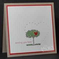 CAS172 Sending You Love by stampercamper - Cards and Paper Crafts at Splitcoaststampers