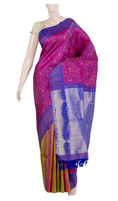 Pure Handloom Silk Saree With Pure Zari