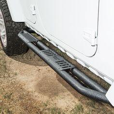 Aluminum XHD Rear Bumper Step 07-14 Jeep Wrangler
