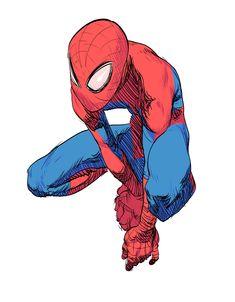 Amazing Spiderman, Art Spiderman, Spiderman Sketches, Spiderman Drawing, Marvel Drawings, Fantasy Character Design, Character Design Inspiration, Character Art, Marvel Art
