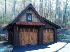 Shed DIY - More ideas below: How To Build detached garage ideas detached garage . - Shed DIY – More ideas below: How To Build detached garage ideas detached garage 2 Car With Loft p - Garage House, Garage Shed, Barn Garage, Garage Plans, Detached Garage, Garage Workshop, Garage Ideas, Garage Storage, Garage Workbench
