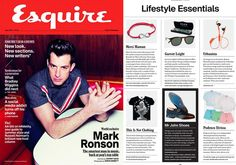 """Podenco Eivissa is featured as a """"Lifestyle essential"""" in June 2015's Esquire magazine"""