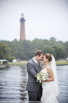 Corolla Chapel Wedding, OBX Wedding, Outer Banks Wedding, Whalehead Club Wedding, Bride & Groom, Bride, Groom, Currituck Lighthouse