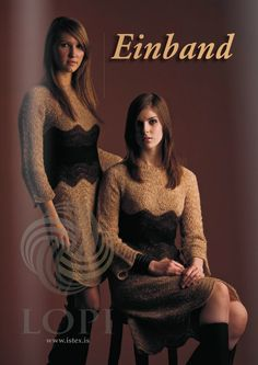Einband pattern book from Ístex. Traditional and contemporary styles knitting patterns for 8 designs in Einband (Lace Weight). Pattern Books, Contemporary Style, Knitting Patterns, Barn, Turtle Neck, Dresses With Sleeves, Long Sleeve, Sweaters, Design