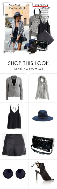 """""""Send Me to New York Fashion Week!"""" by goreti ❤ liked on Polyvore featuring VILA, Calypso St. Barth, H&M, rag & bone, French Connection, Chanel, The Row, Schutz, contestentry and sendmetoFW"""