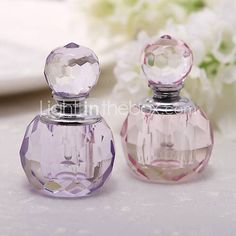[USD $ 4.79] Pretty Crystal Perfume Bottle (More Colors)