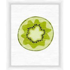 Kiwi Framed Giclee Print