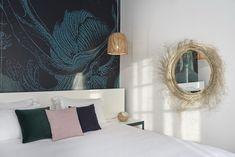 Suite with outdoor Jacuzzi - Kouros Mykonos Town Hotel Mykonos Town Hotels, Jacuzzi Outdoor, Sea, Classic, Room, Home Decor, Derby, Bedroom, Outdoor Tub