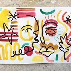 Please follow my new art profile @carloamenart First exhibition this Thursday at 7PM // @bamkaraokebox 40 avenue de la république PARIS 75011 #paris11 #peinture #minimalist #minimalism #parisart #parisexpo #painting #cubism #cubismo #cubismart #colorfull #guacamole #expo #naif #minimalism #frenchartist #parisartist