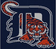 Detroit Tigers Crochet Pattern Afghan Graph,  BUT isn't on goodsmiths any longer?