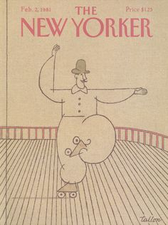 The New Yorker - Monday, February 2, 1981 - Issue # 2920 - Vol. 56 - N° 50 - Cover by : Robert Tallon