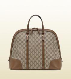 Gucci nice GG supreme canvas top handle bag