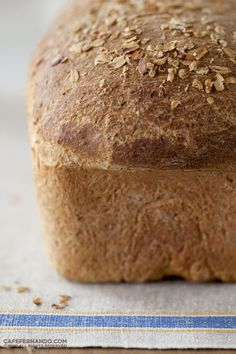 Oatmeal sandwich bread - I will be substituting honey for the molasses