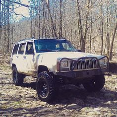 Old retired jeep