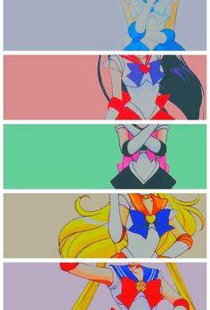 Sailors Inners - Mercury, Mars, Jupiter, Venus y Moon