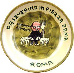 Roma - Da Severino in Piazza Zama: Abbacchio romano (giu. 69 - nov. 84)