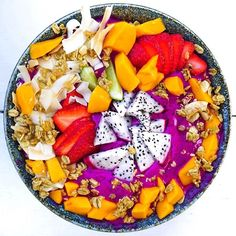"""Plant Based Hawaii  on Instagram: """"PITAYA to start the day ~"""