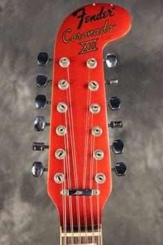 Fender Coronado XII 1967 Candy Apple Red