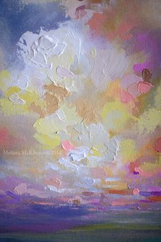 Colourful Contemporary Abstract Landscape Painting by Canadian Artist Painter…