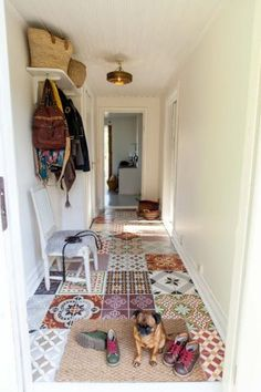 Design Trends: Make a Statement with a Tiled Entryway